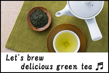 delicious green tea